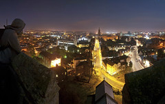 Norwich at night photo by sebauk