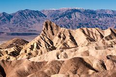 Zabriskie Point, Death Valley photo by Swissrock