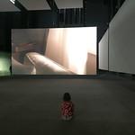Lonely watching modern art<br/>25 Feb 2017