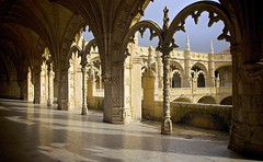 The Cloisters Jerónimos Monastery BELEM LISBON photo by ONETERRY. AKA TERRY KEARNEY