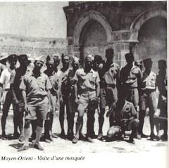 BP- Moyen orient visite d'une mosquée - Mémoires de Roger Ludeau