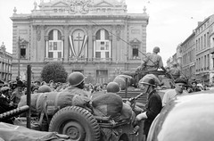 Défilé de la Liberation à Montpellier. ECPAD