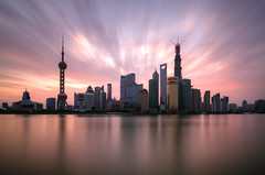 Shanghai Sunrise photo by arjalvaran