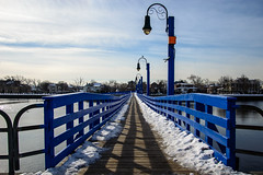 Bridge in Sheepshead Bay \ Manhattan Beach, Brooklyn photo by drpavloff