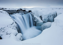 Hrafnabjargafoss - Waterfall - North Iceland photo by Arnar Bergur