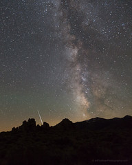 Alpha Capricornid Meteor photo by Jeffrey Sullivan