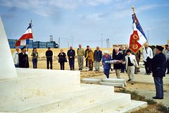 2002 - Pèlerinage Bir Hakeim - cimeitère de Tobrouk