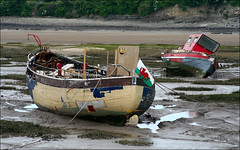 Old Boats at Barry photo by Canis Major