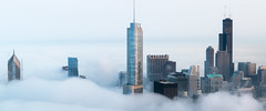 Chicago in the Clouds photo by PeteTsai