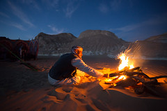 Desert Campfire photo by Tim de Groot - AirTeamImages