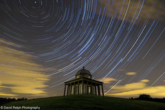 Hardwick Park Star Trails photo by David Relph