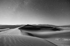 Sand Dunes Death Valley CA photo by Eric Zumstein