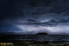 The Lightning Storm, Ibiza photo by awhyu