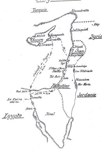 BIM- 1940  - carte chypre