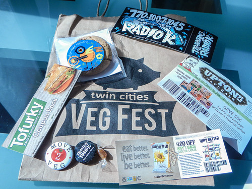 TC Veg Fest 2013 Goodie Bag