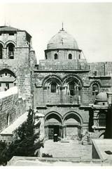 1ère Cie des Chars- 1941- Jerusalem -Cat du St Sépulcre Jérusalem mai 41- Col Pierre Robedat