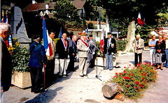 Authion - inauguration Plaque Isola 2000 - col.Wladislas Picuira
