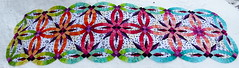 Bali Bed Runner is Complete photo by Canton Village Quilt Works ~ Jackie