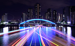 Night Lighting Bridge photo by igh-033