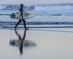 Sunrise Surfer photo by tristanotierney