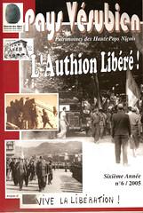 Bibliographie- L'Authion Libéré- Pays vésubien n° 6 -2005