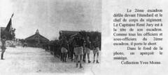 1944 - Lyon - Défilé du 2ème escadron du 11e Cuirassiers