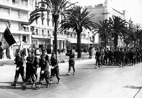 BIMP - Alpes maritimes - Nice 1945 -