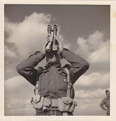 1942- Libye- Soldat du Bataillon d'Infanterie de Marine - Col. Blandine Bongrand Saint Hillier