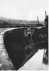 Brosset- 1944  - Vosges  la jeep du général Brosset après l'accident dans le Rahin