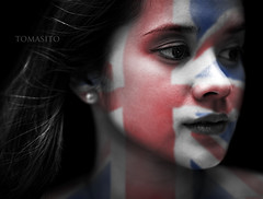 My Wife and The Union Jack photo by Tomasito.!