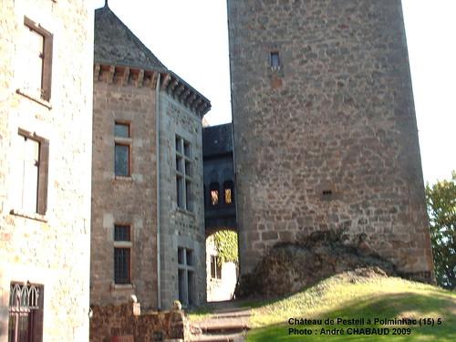 Château de Pesteil à Polminhac (15) 5