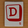 Word Grab letter D