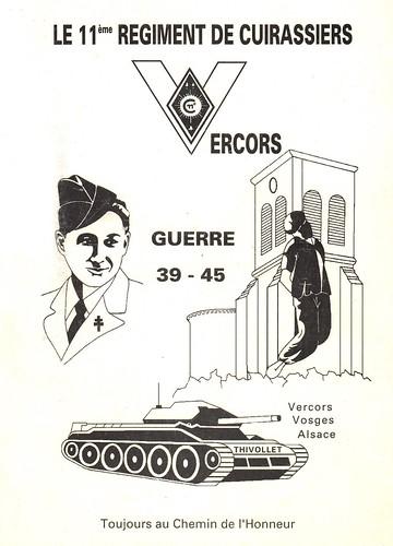 Le 11ème régiment de cuirassiers Guerre 39-45 - Elie Rossetti