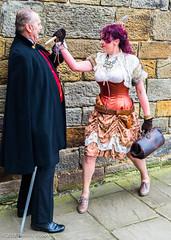Steampunk and Vampire Goth photo by Theunis Viljoen LRPS