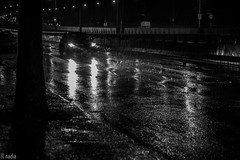 Stormy Night - Décarie Blvd. NDG photo by Nadia Not Included