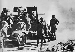 1942- Bir Hakeim - L'artillerie allemande en action - Revue Icare n°101