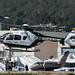 Ibiza - Helicoptero de la Guardia Civil despegando del aeropuerto de Ibiza