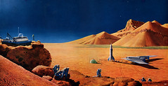 1956 ... exploration of Mars photo by x-ray delta one