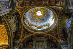 Ornate St. Peter's Domed Ceiling (Explored 11/9/13) photo by nydavid1234