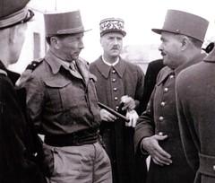 1943 - Tunisie - général Brosset 2 -- Col. Alain Jacquot-Boileau
