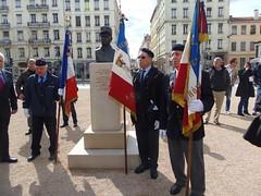 Inauguration de la place général Brosset