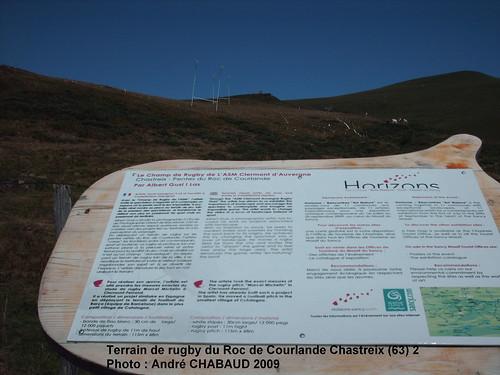 Terrain de rugby du Roc de Courlande Chastreix (63) 2