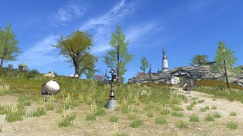 とあるリムサの郊外風景元画像