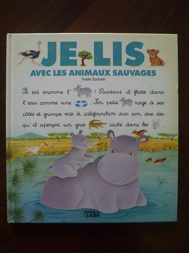 Je lis avec les animaux sauvages