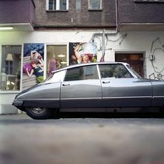 Citroën in Berlin. photo by wojszyca