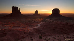 Monument Valley silhouettes photo by Patrick Berden