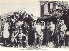 1944 - Provence- Hyères- Char porc épic du 8e RCA - JEanne Heitzler