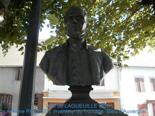 ANTOINE ROUSSEL-INVENTEUR DU FROMAGE BLEU D'AUVERGNE-LAQUEUILLE (63)