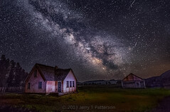 Milky Way At The Mormon Row Home photo by Jerry T Patterson