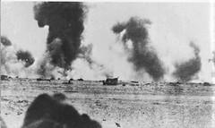 1942 Bir Hakeim - Effets d'un bombardement sur BH ECPA Bergot